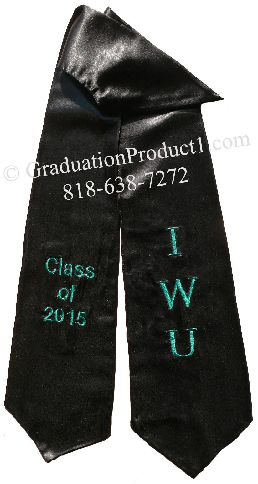 IWU Graduation Stole
