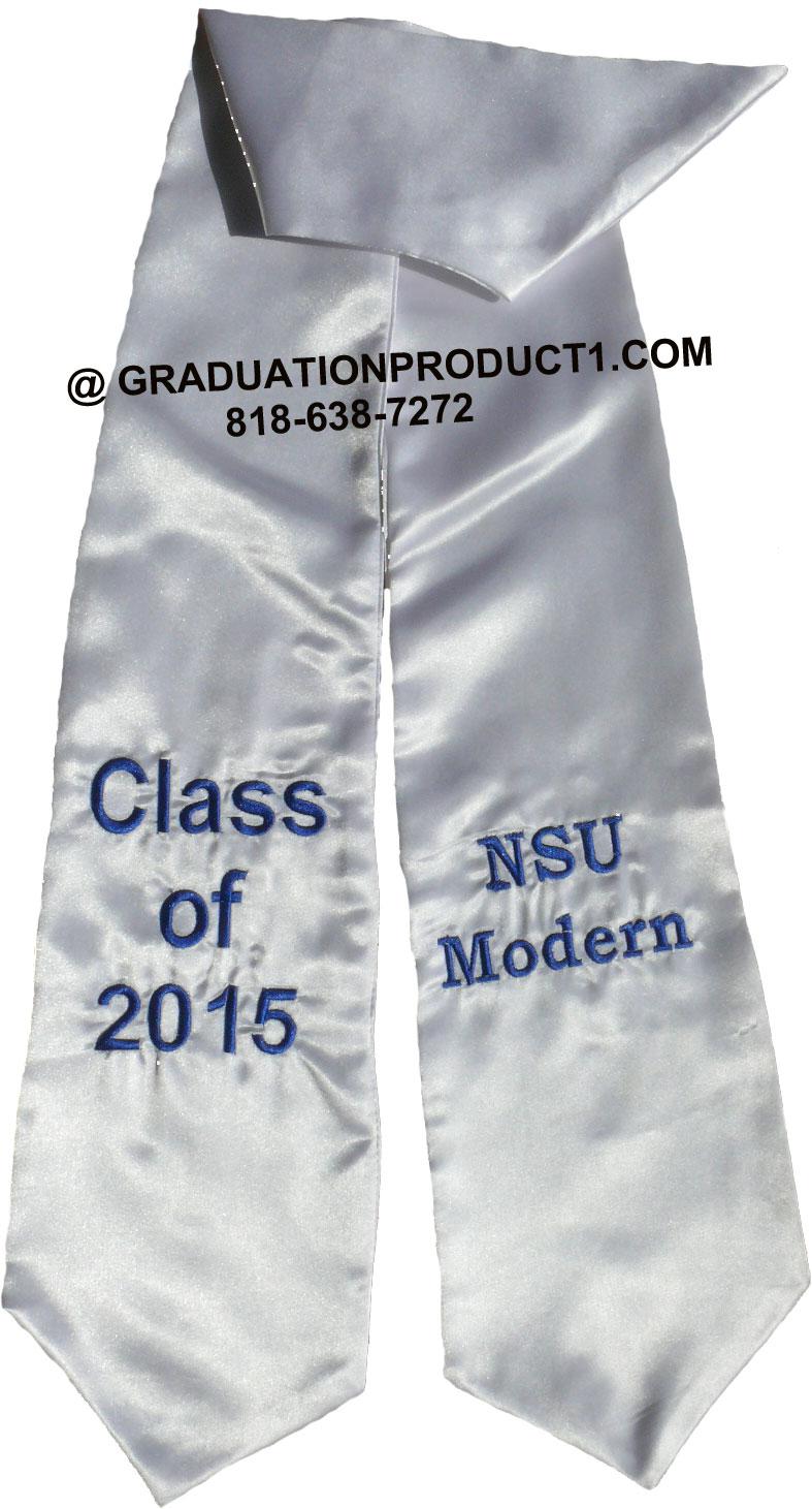 NSU Modern Graduation Stole