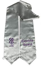 ASCP Pacific Execute Board Graduation Stole