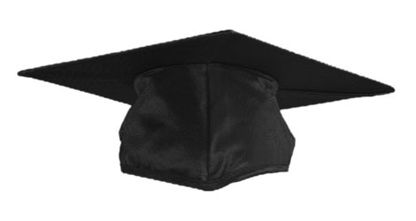 Black Graduation cap