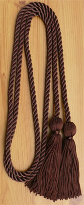 Brown Graduation Cords