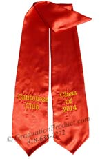 Cantonese Club Graduation Stole