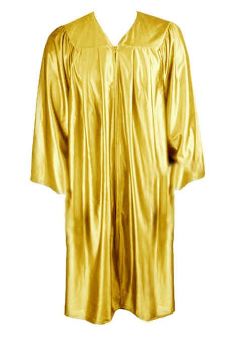 Gold Graduation Gown