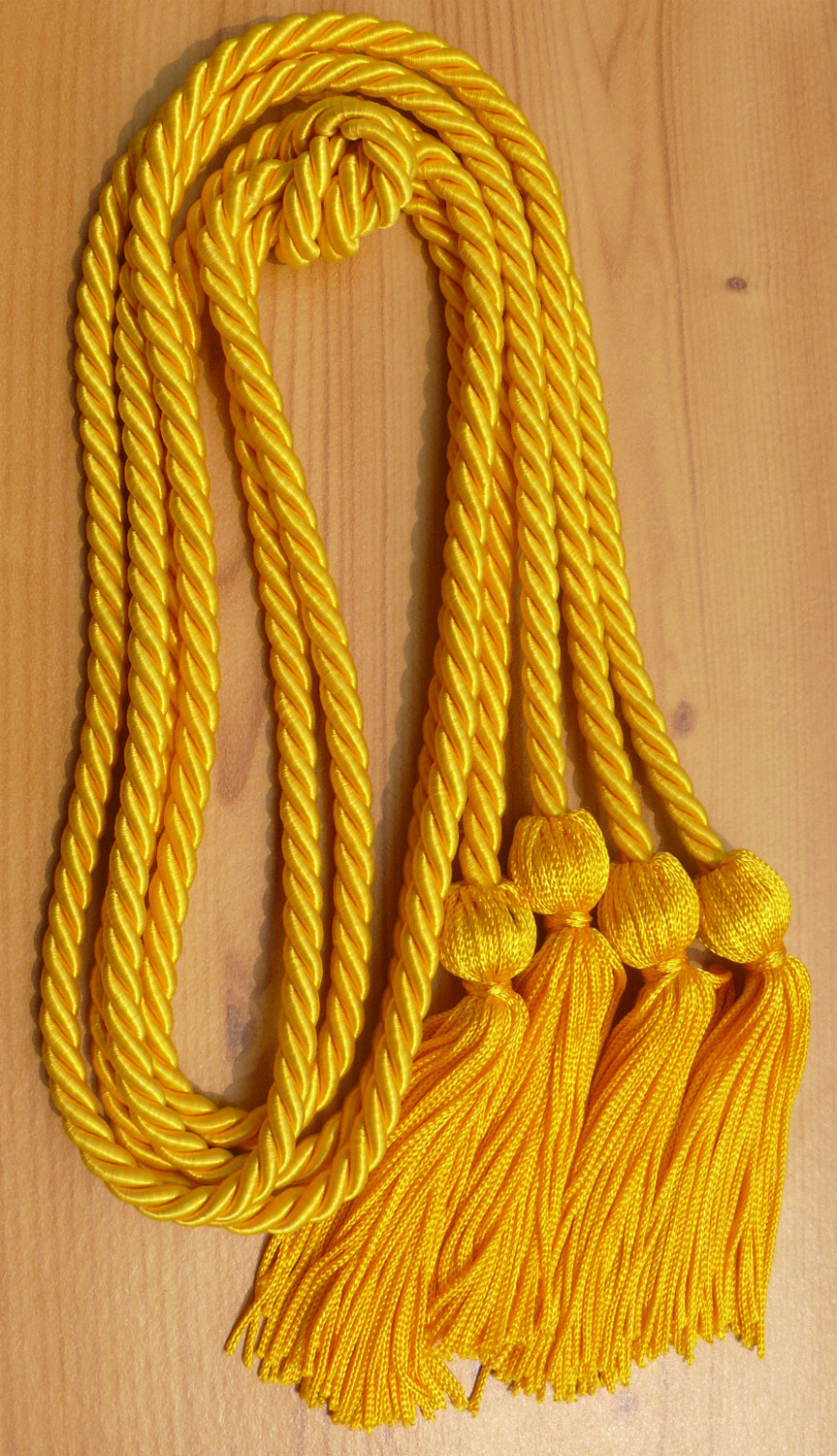 Gold Double Honor Cord