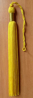 Single Color Graduation Tassel
