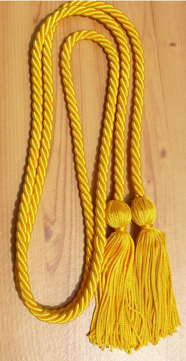 Gold Single Honor Cords