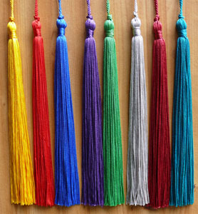 8 Graduation Tassel with 6 Loop