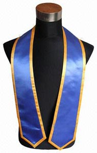 Royalblue Trims Graduation Stole