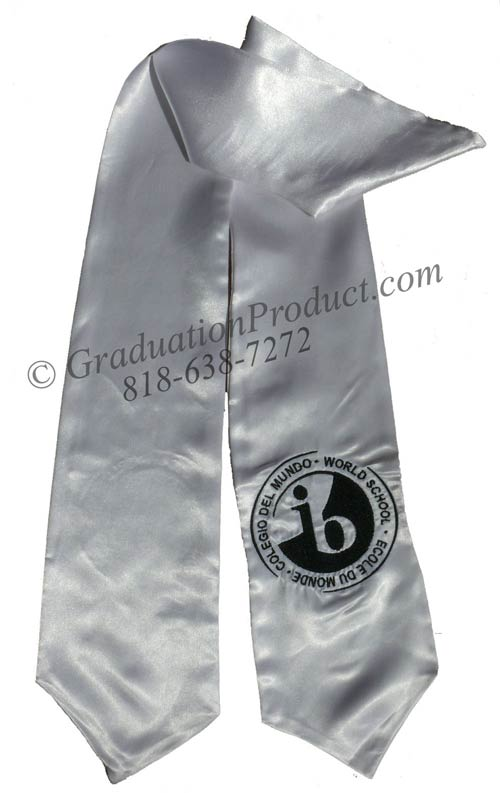 Ib World School Graduation Stole Logo