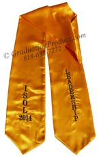 ISOL Leadership Graduation Stole