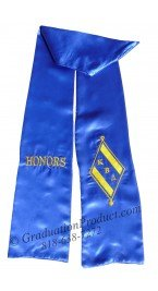 kappa beta delta greek graduation stole