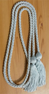 Sky/Light Blue Graduation Cords