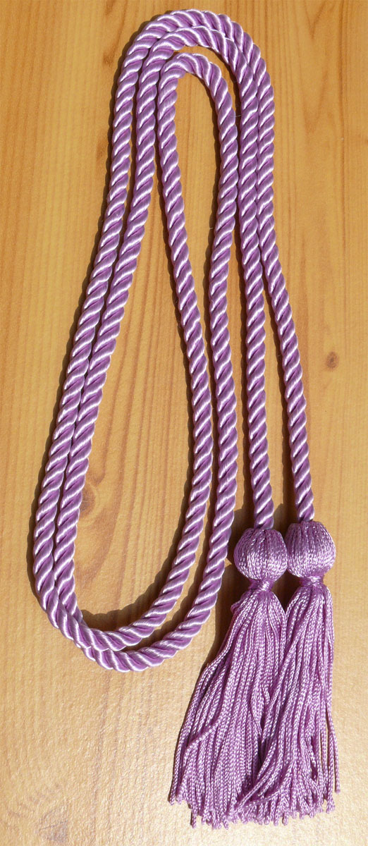 Lilac Single Honor Cords