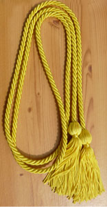 Maize Graduation Cords