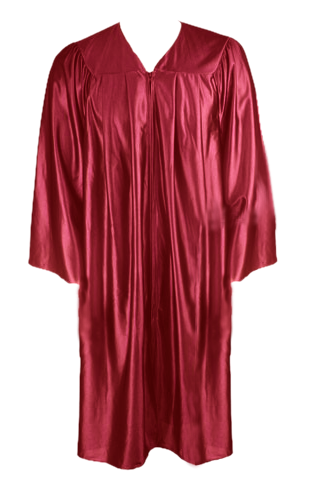 Maroon Graduation  Gown