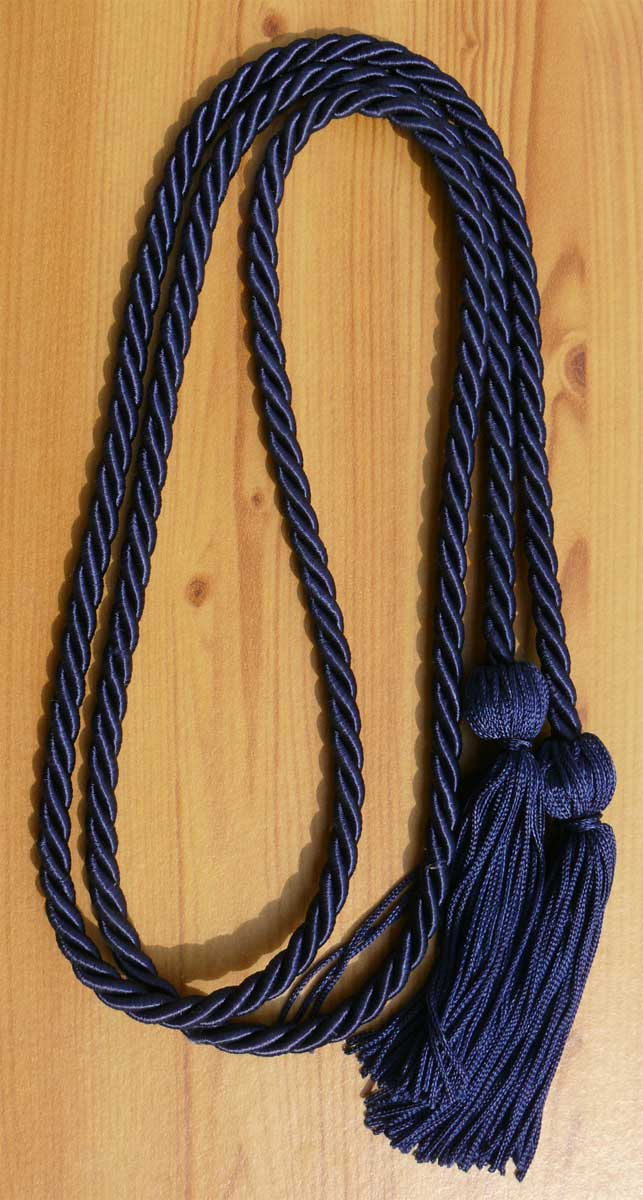 Navyblue Single Honor Cord