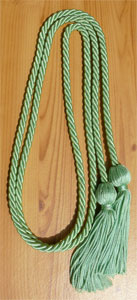 Nile Green Graduation Cords