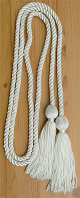 Eggshell/Off white Graduation Cords