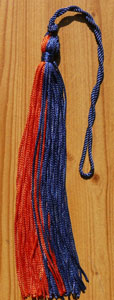 8 Two Color Graduation Tassel
