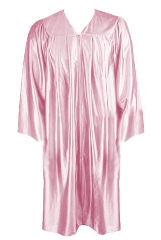 Pink Graduation Gown