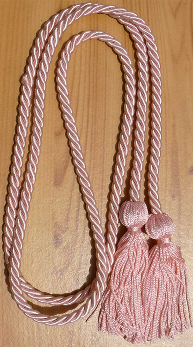 Pink Single Honor Cords