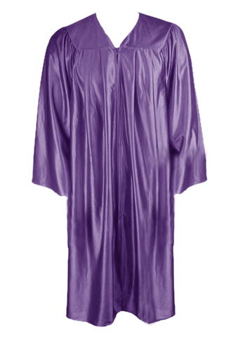 Purple Graduation Gown