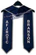 ASB SHS Graduation Stoles & Sashes with Gold Trim