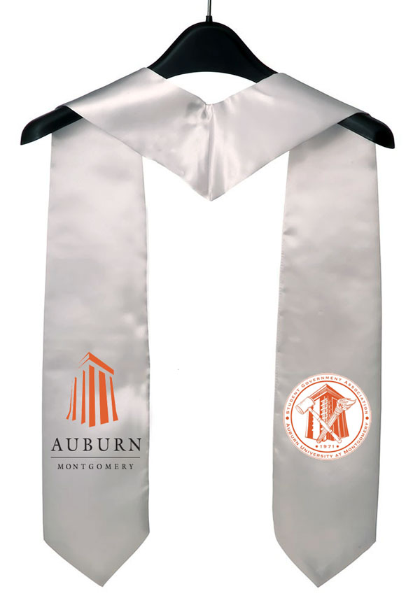 Auburn University At Montgomery Graduation Stole