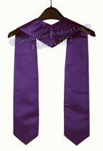 Avid 2016 purple graduation stole