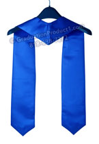AVID Graduate royal blue Graduation stole