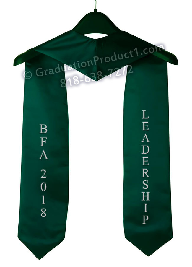 Bfa 2018 Leadership Graduation Stole