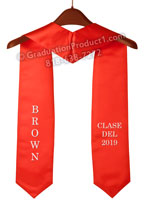 Brown University Graduation Stole
