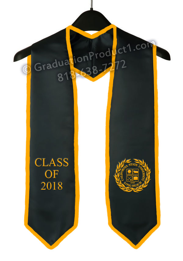 CSULB Graduation Stole With Trim as low as $10.99