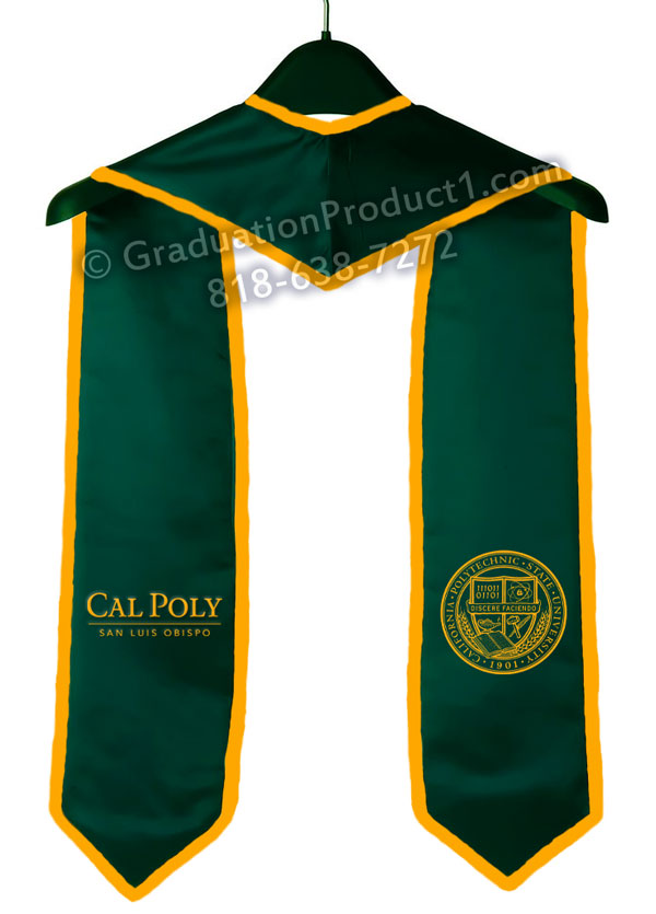California Polytechnic State University Graduation Stole