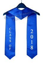 Class of 2018 Royal Blue Stole