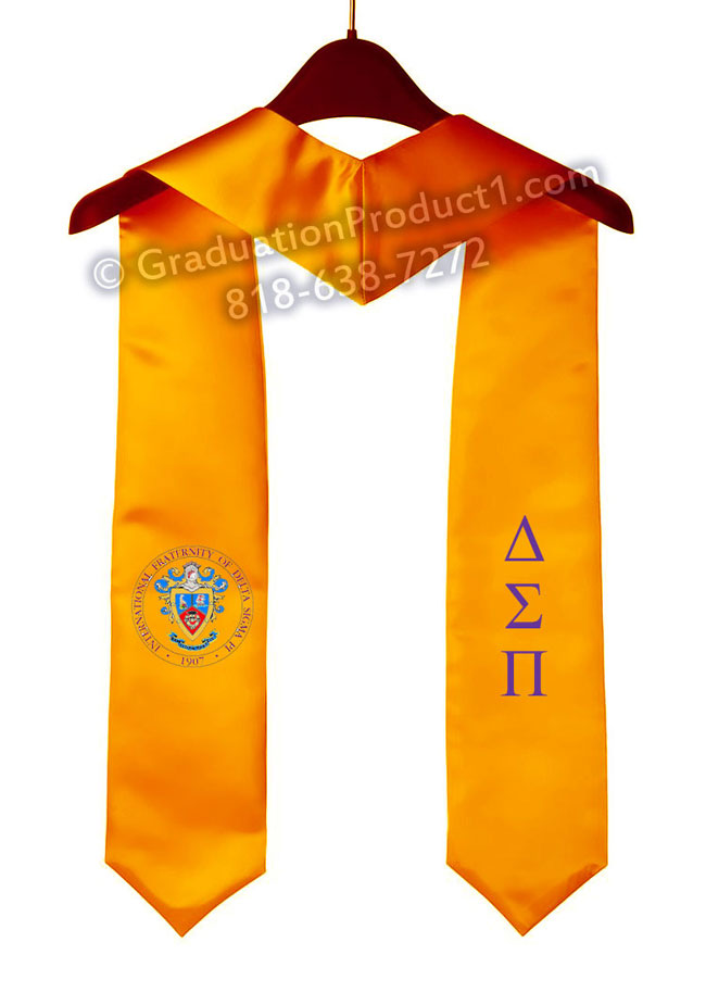 International Fraternity Of Delta Sigma Pi Graduation Stole