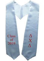 Delta Chi Delta Greek Graduation Stole
