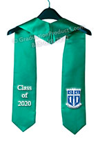 Duke University Graduation Stole with Logo