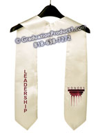 Ferris State University Graduation Stole With Logo