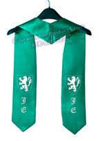 Jonathan Edwards College Graduation Stole with Logo
