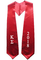 Kappa Sigma Greek Graduation Stole