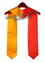 Red and Gold Graduation Stole