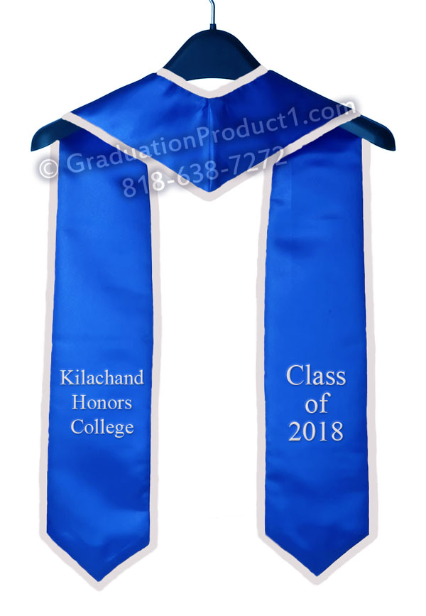Kilachand Honors College Graduation Stole
