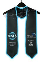 OMS Graduation Stole With Trim