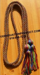 Rainbow Graduation Honor Cords