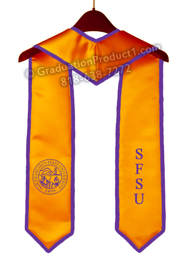 San Francisco State University Graduation Stole With Trim As Low As