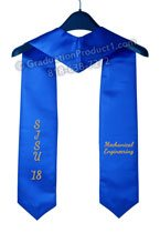 SJSU Mechanical Engineering Graduation Stole