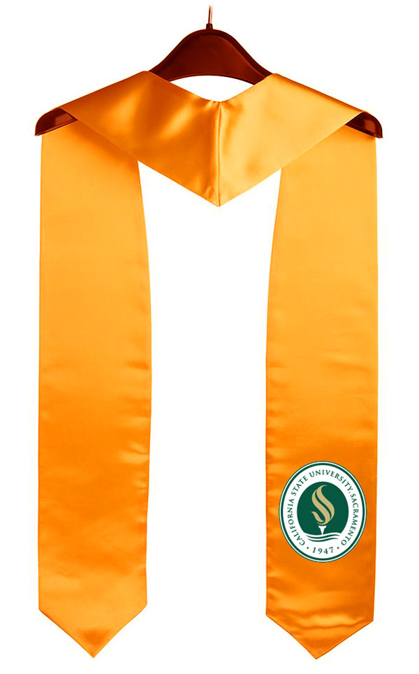 Sacramento State California State University Graduation Stole
