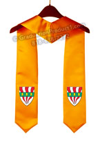 Silliman College Graduation Stole with Logo