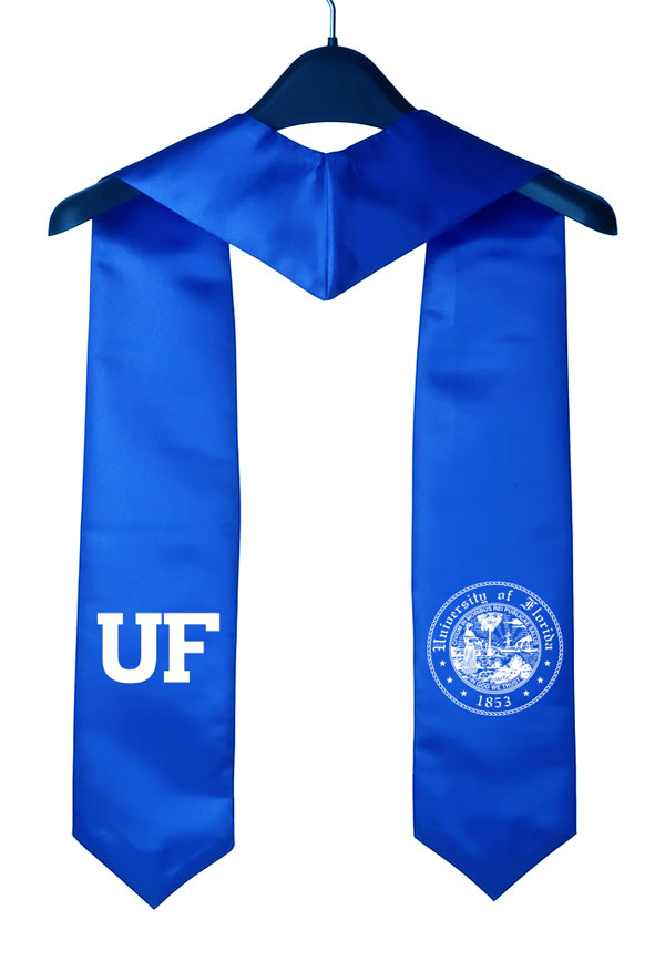 UFL Royal Blue Graduation Stole & Sashes as low as $9.99 :: High ...